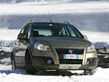Fiat Sedici 2005–09 wallpapers