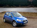 Images of Fiat Sedici UK-spec 2005–09