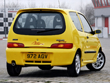 Fiat Seicento Sporting Michael Schumacher UK-spec 2001–03 photos