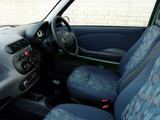 Pictures of Fiat Seicento UK-spec 1998–2001