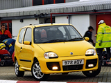 Pictures of Fiat Seicento Sporting Michael Schumacher UK-spec 2001–03