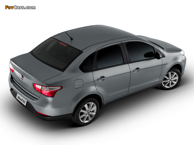 Fiat Grand Siena Attractive (326) 2012 images (640 x 480)