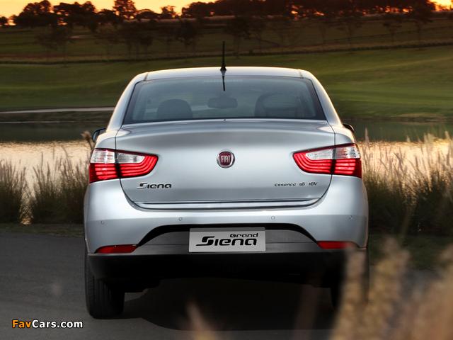 Fiat Grand Siena Essence (326) 2012 images (640 x 480)