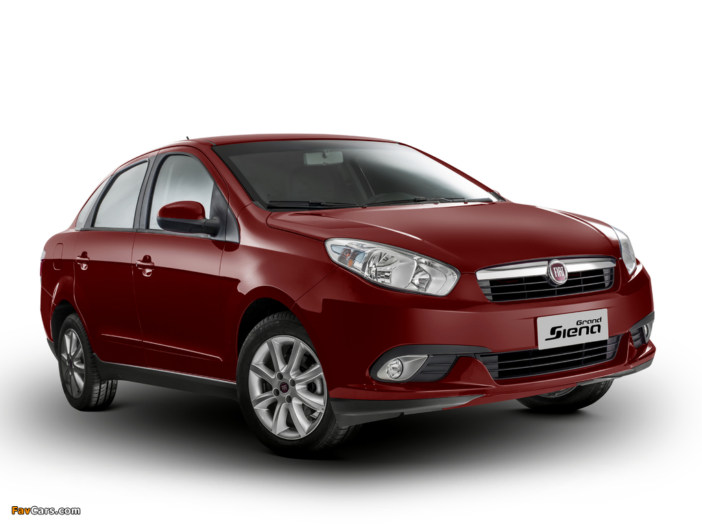 Pictures of Fiat Grand Siena Attractive (326) 2012 (1024 x 768)