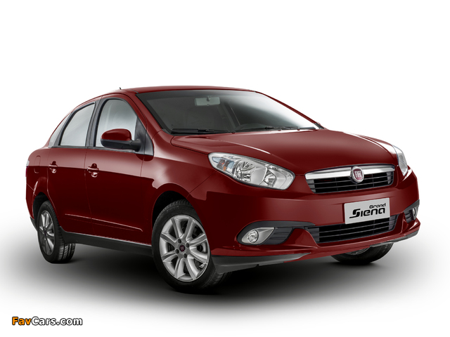 Pictures of Fiat Grand Siena Attractive (326) 2012 (640 x 480)