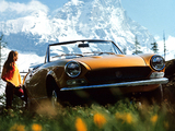 Fiat 124 Sport Spider 1969–79 photos
