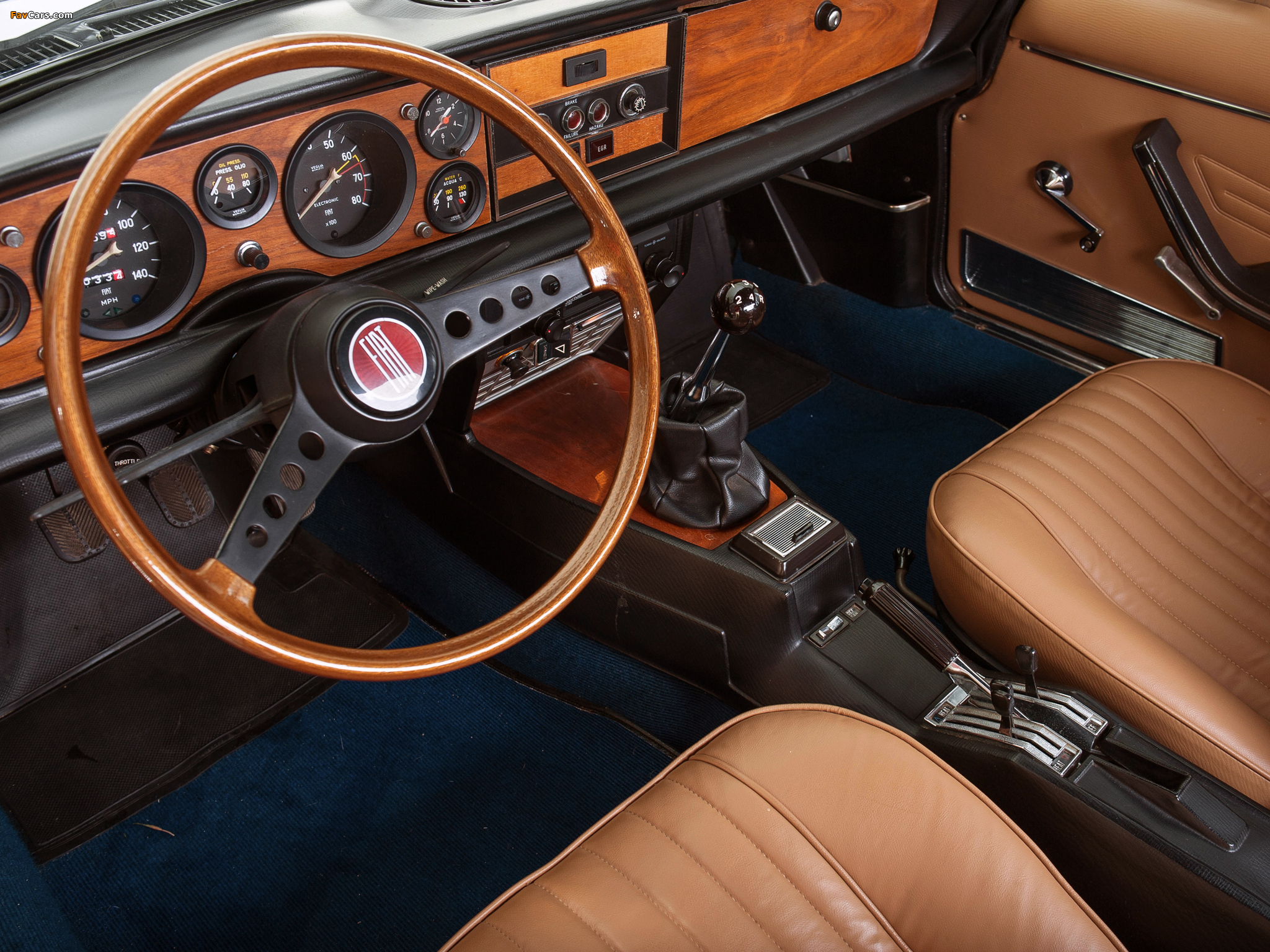 Fiat 124 Sport Spider US-spec 1975–79 wallpapers (2048 x 1536)