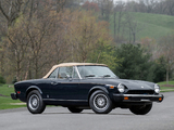 Images of Fiat 124 Sport Spider US-spec 1975–79