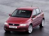 Fiat Stilo 5-door UK-spec (192) 2004–06 wallpapers
