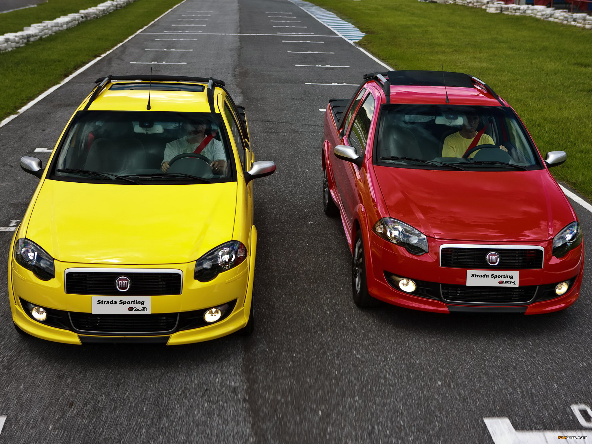 Fiat Strada Sporting 2011–12 photos (2048 x 1536)