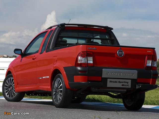 Fiat Strada Sporting 2011–12 pictures (640 x 480)