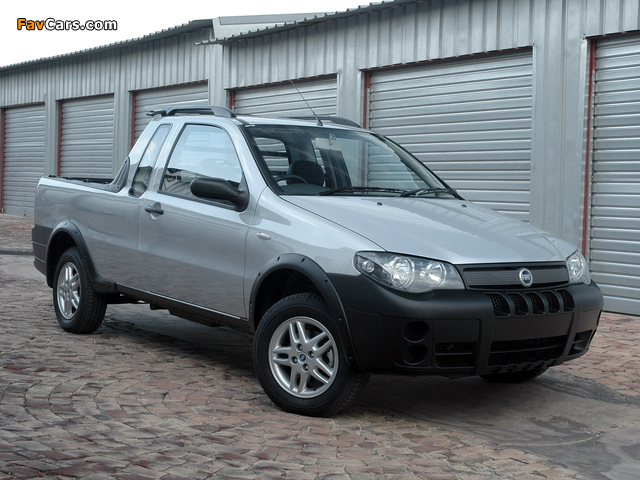 Images of Fiat Strada X-Space 2007–10 (640 x 480)