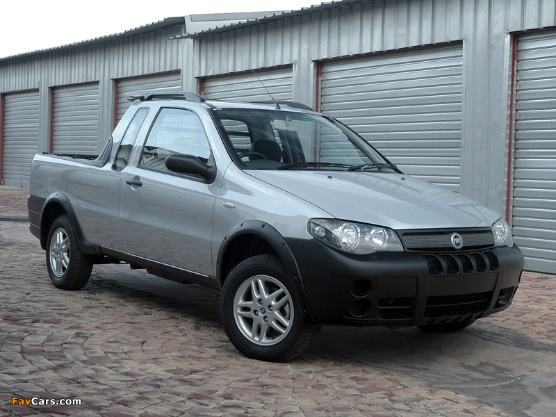 Images of Fiat Strada X-Space 2007–10 (800 x 600)