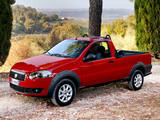 Images of Fiat Strada Trekking Short Cab EU-spec 2012