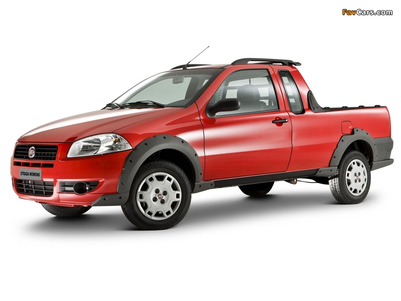 Pictures of Fiat Strada Working CE 2009 (800 x 600)