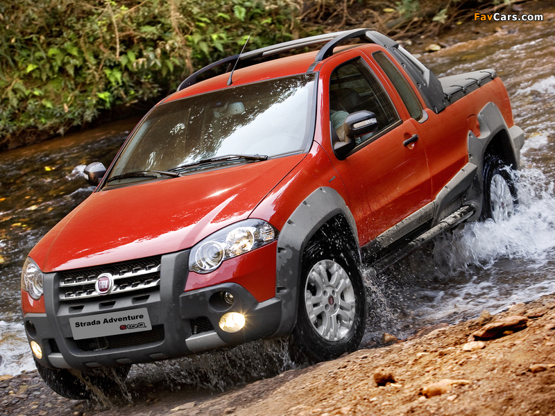 Fiat Strada Adventure CE 2009–12 wallpapers (800 x 600)