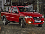 Fiat Strada Working CE 2009 wallpapers