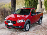 Fiat Strada Trekking Short Cab EU-spec 2012 wallpapers