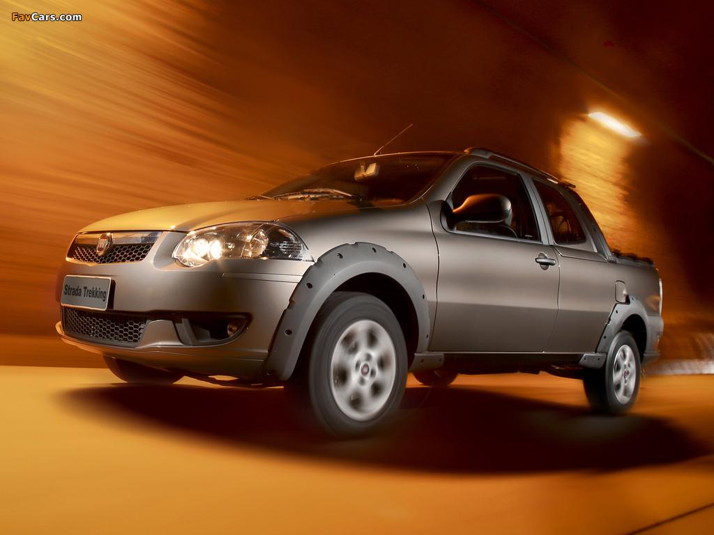 Fiat Strada Trekking CD 2012 wallpapers (1024 x 768)