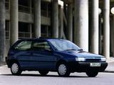 Photos of Fiat Tipo 3-door UK-spec 1993–95