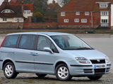 Images of Fiat Ulysse UK-spec (179) 2003–05