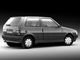 Fiat Uno 3-door 1989–95 pictures