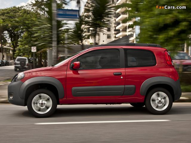 Fiat Uno Way 3-door 2011 images (640 x 480)