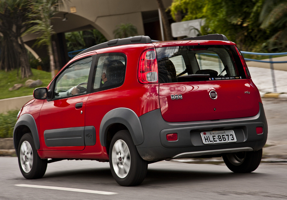 Fiat Uno Way 3 Door 2011 Pictures