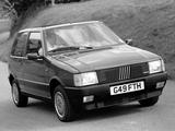 Photos of Fiat Uno Turbo i.e. UK-spec (146) 1985–89