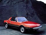Bertone X1/9 (128) 1982–87 photos