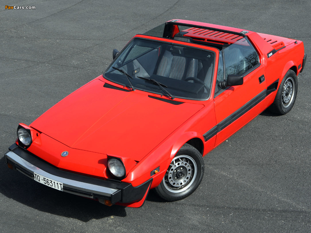 Bertone X1/9 (128) 1987–89 photos (1024 x 768)