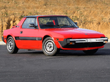 Bertone X1/9 (128) 1987–89 photos