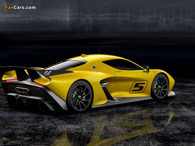 Images of Fittipaldi EF7 Vision Gran Turismo 2017 (640 x 480)
