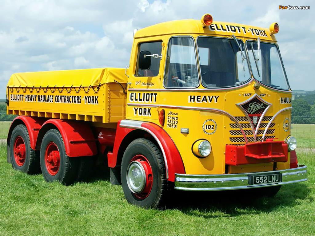 Foden S20 6x4 1956–63 pictures (1024 x 768)