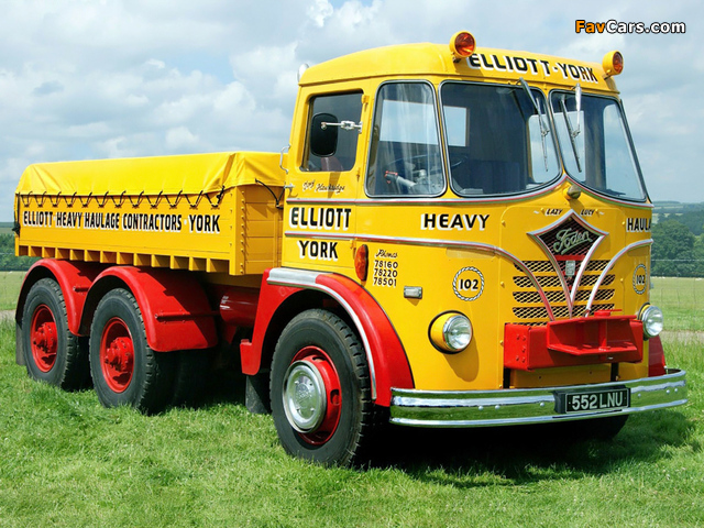 Foden S20 6x4 1956–63 pictures (640 x 480)
