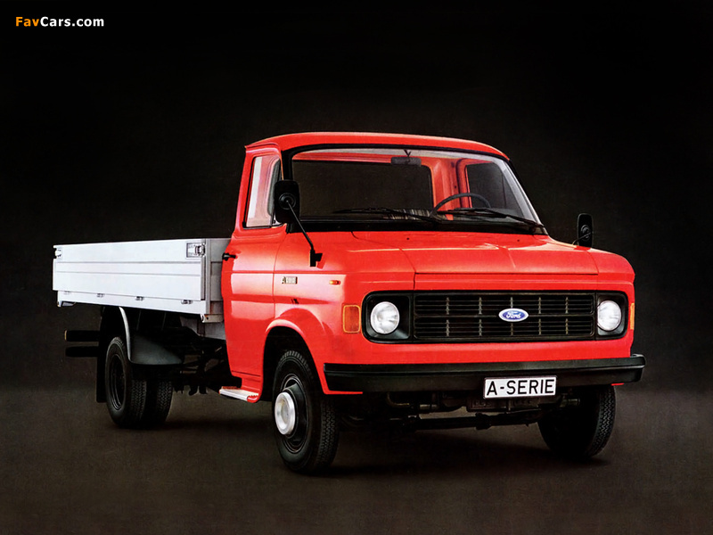 Ford A-Series 1973–82 wallpapers (800 x 600)