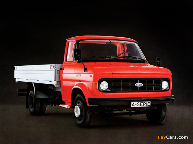 Ford A-Series 1973–82 wallpapers (640 x 480)