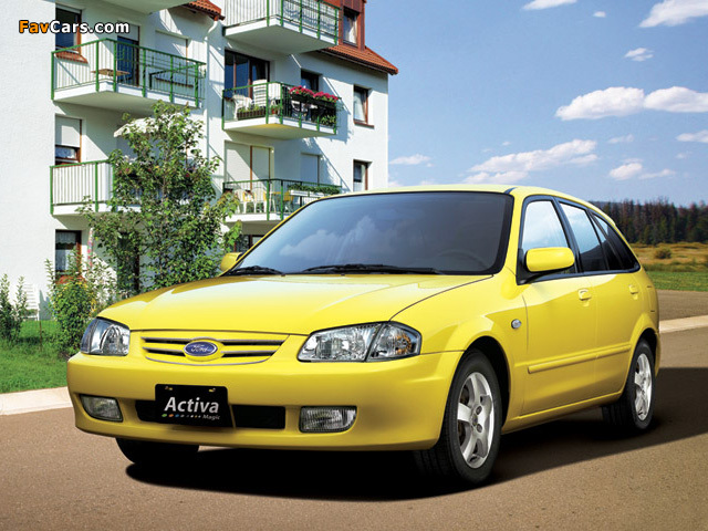 Pictures of Ford Activa (640 x 480)