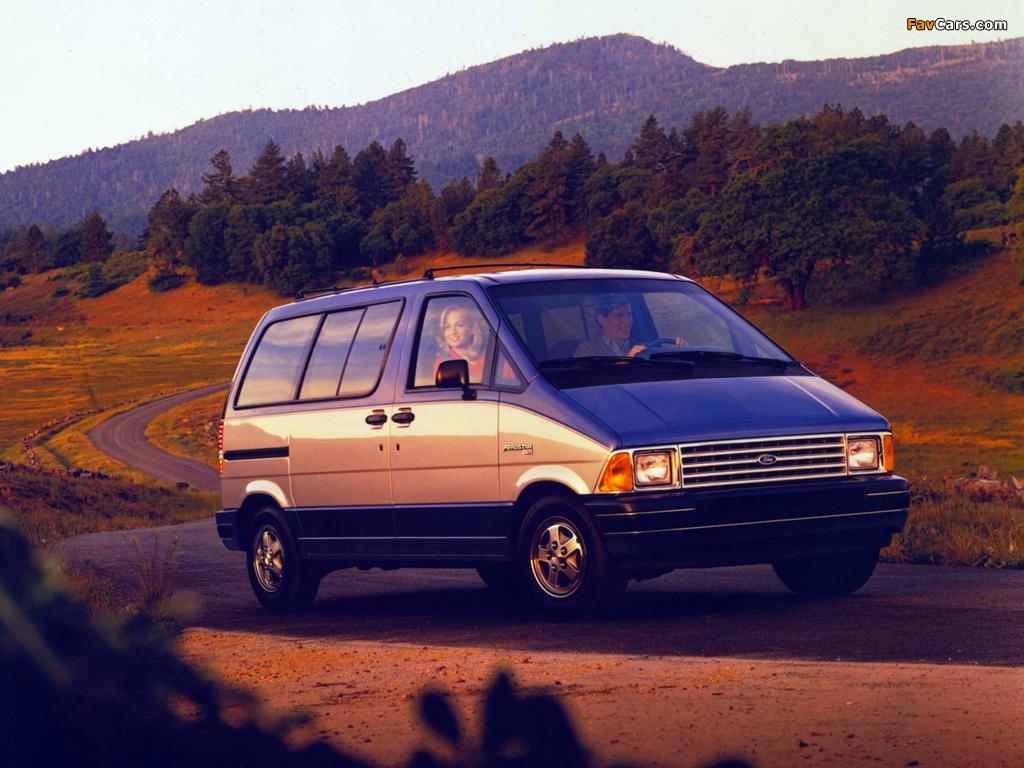 Ford Aerostar 1986–91 photos (1024 x 768)