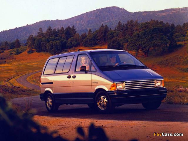 Ford Aerostar 1986–91 photos (640 x 480)