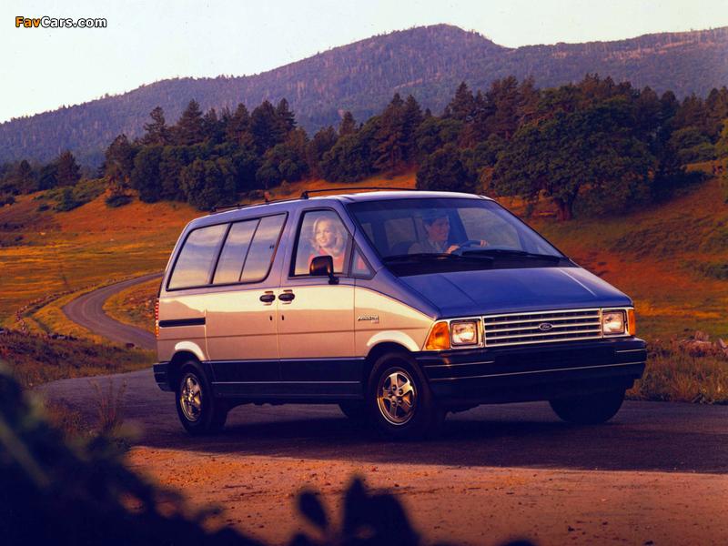 Ford Aerostar 1986–91 photos (800 x 600)