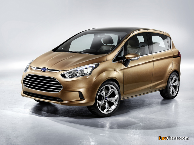 Ford B-Max Concept 2011 images (640 x 480)