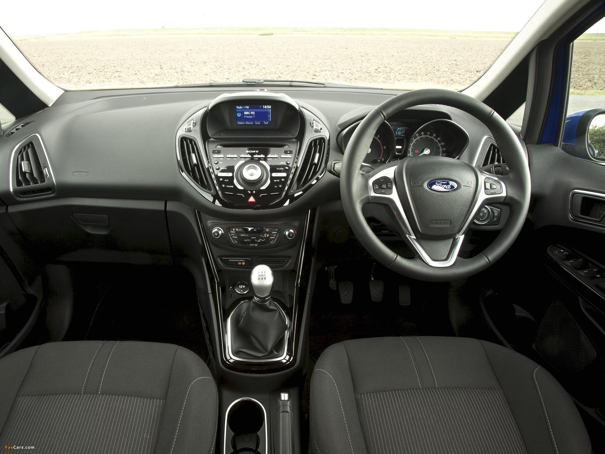 Ford B-MAX UK-spec 2012 photos (2048 x 1536)