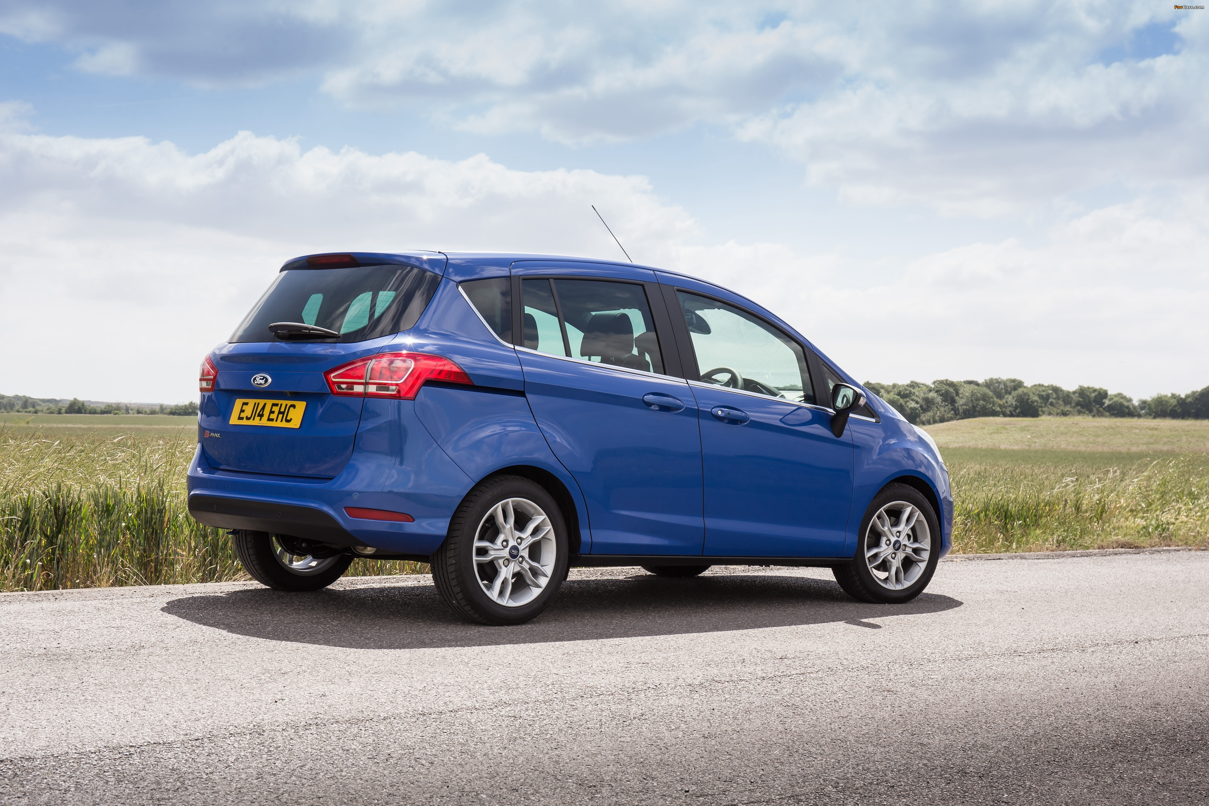 Ford B-MAX UK-spec 2012 photos (4096 x 2731)
