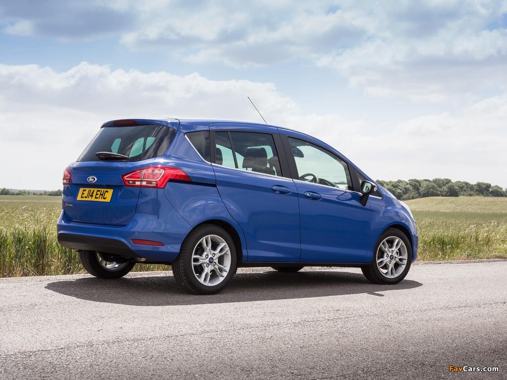 Ford B-MAX UK-spec 2012 photos (1024 x 768)