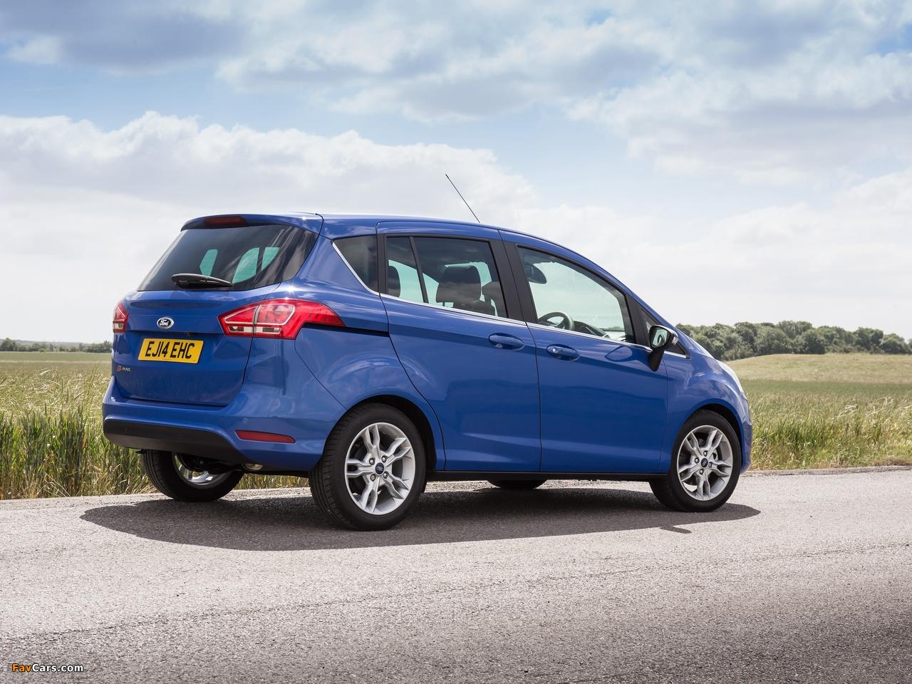 Ford B-MAX UK-spec 2012 photos (1280 x 960)