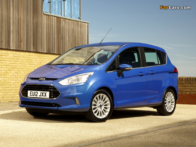 Ford B-MAX UK-spec 2012 pictures (640 x 480)
