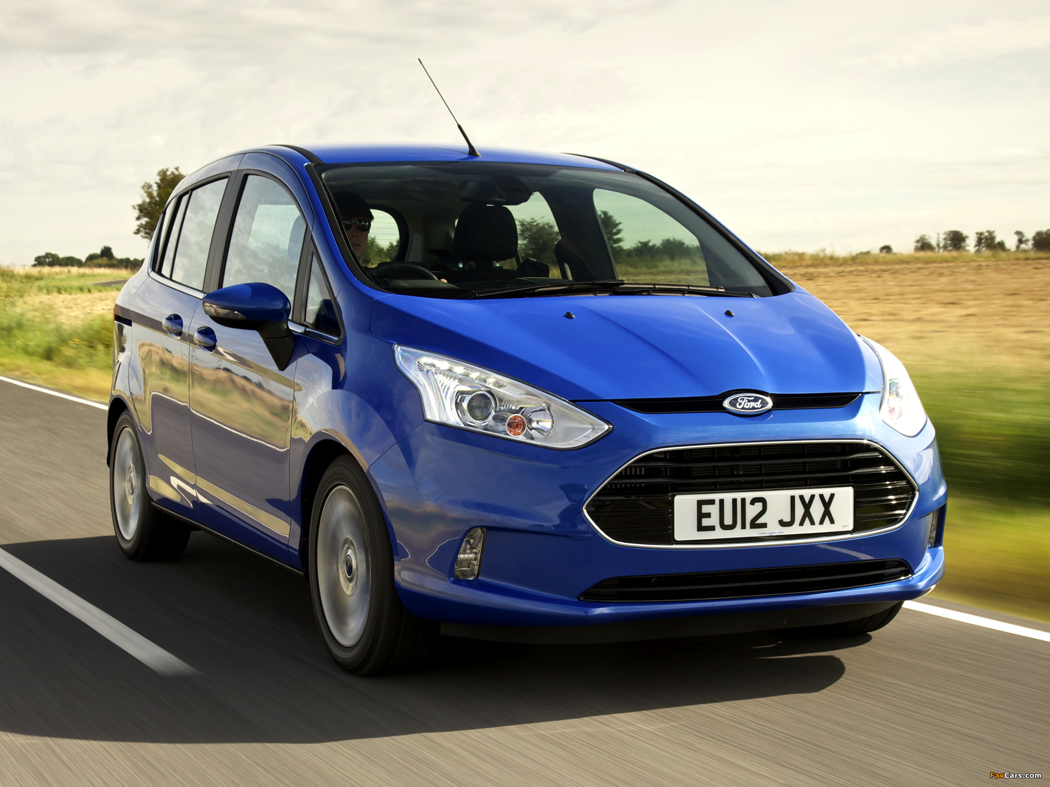 Ford B-MAX UK-spec 2012 wallpapers (2048 x 1536)