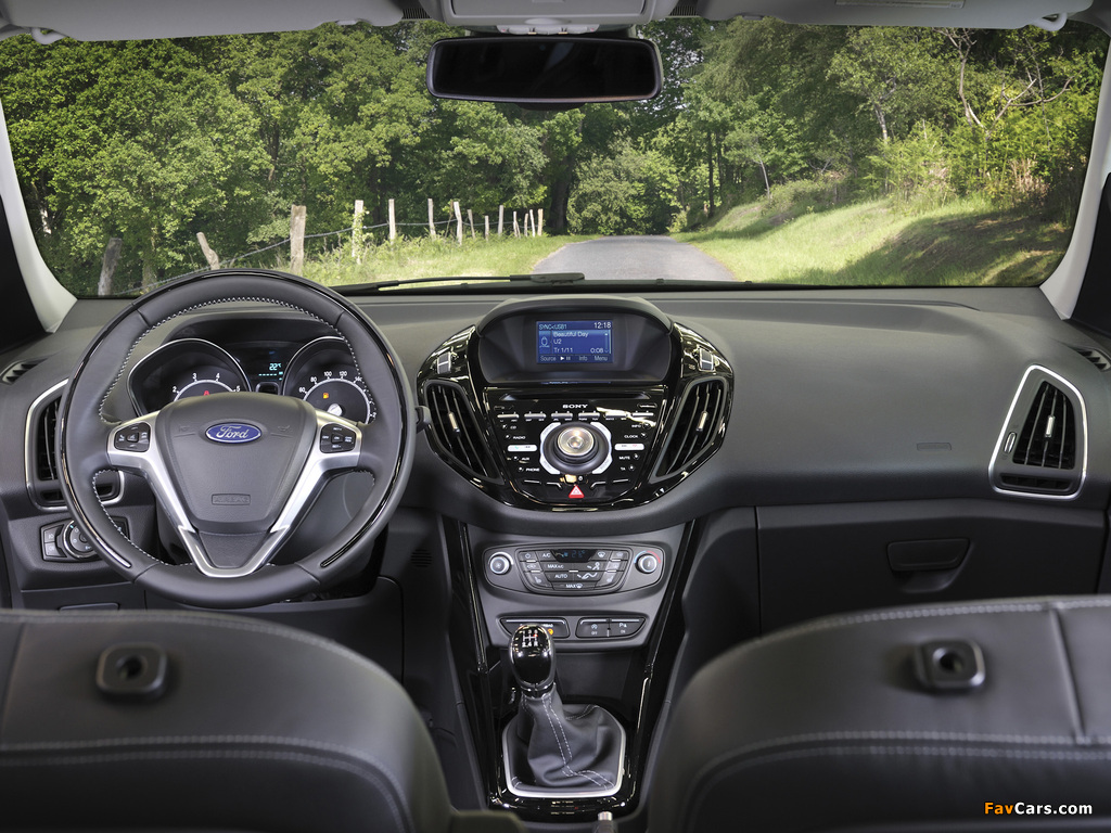 Ford B-MAX 2012 wallpapers (1024 x 768)