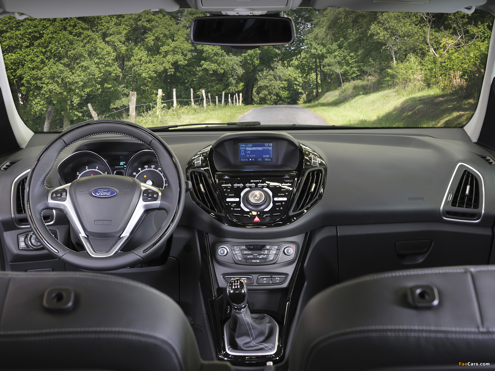 Ford B-MAX 2012 wallpapers (1600 x 1200)